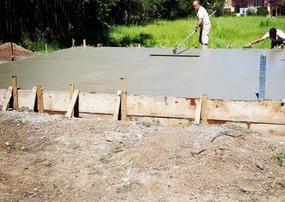 foundation work